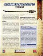 Treasures of NeoExodus: Silence (PFRPG)