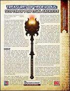 Treasures of NeoExodus: Scepter of Perpetual Sacrifice (PFRPG)