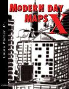 Modern Day Maps X