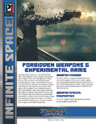 Infinite Space: Forbidden Weapons & Experimental Arms (SFRPG)