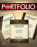 Cover Portfolio 006