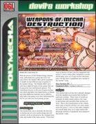 Weapons of Mecha Destruction (D20 Future)