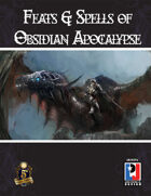 Feats and Spells of Obsidian Apocalypse (5E)