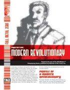 Prototype: Modern Revolutionary (D20 Modern)