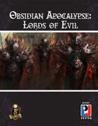 Obsidian Apocalypse: Lords of Evil (5E)