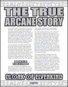 The True Arcane Story: Cloak of Elvenkind
