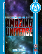 Official Handbook of the Amazing Universe: Delta & Epsilon (Super-Powered by M&M)