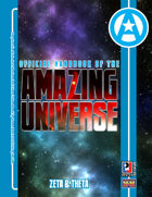 Official Handbook of the Amazing Universe: Zeta & Theta (Super-Powered by M&M)
