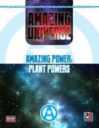 Amazing Power: Plant Powers (Super-Powered by M&M)