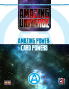 Amazing Power: Card Powers (Super-Powered by M&M)