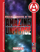 Official Handbook of the Amazing Universe: Paramentals (Super-Powered by M&M)