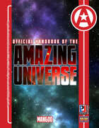 Official Handbook of the Amazing Universe: Mangod (Super-Powered by M&M)