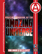 Official Handbook of the Amazing Universe: Hina Amano & Becca Quest (Super-Powered by M&M)