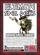 Ultimate Spell Decks: Druid Spell Cards (PFRPG)