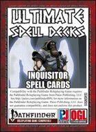 Ultimate Spell Decks: Inquisitor Spell Cards (PFRPG)
