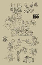 NIGHT SOIL #one — for the DCC RPG (Dungeon Crawl Classics) — INNER HAM
