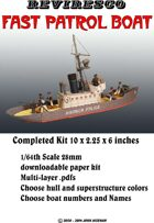 Fast Patrol Boat 1/64th Scale