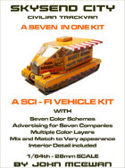 Skysend City Trackvan