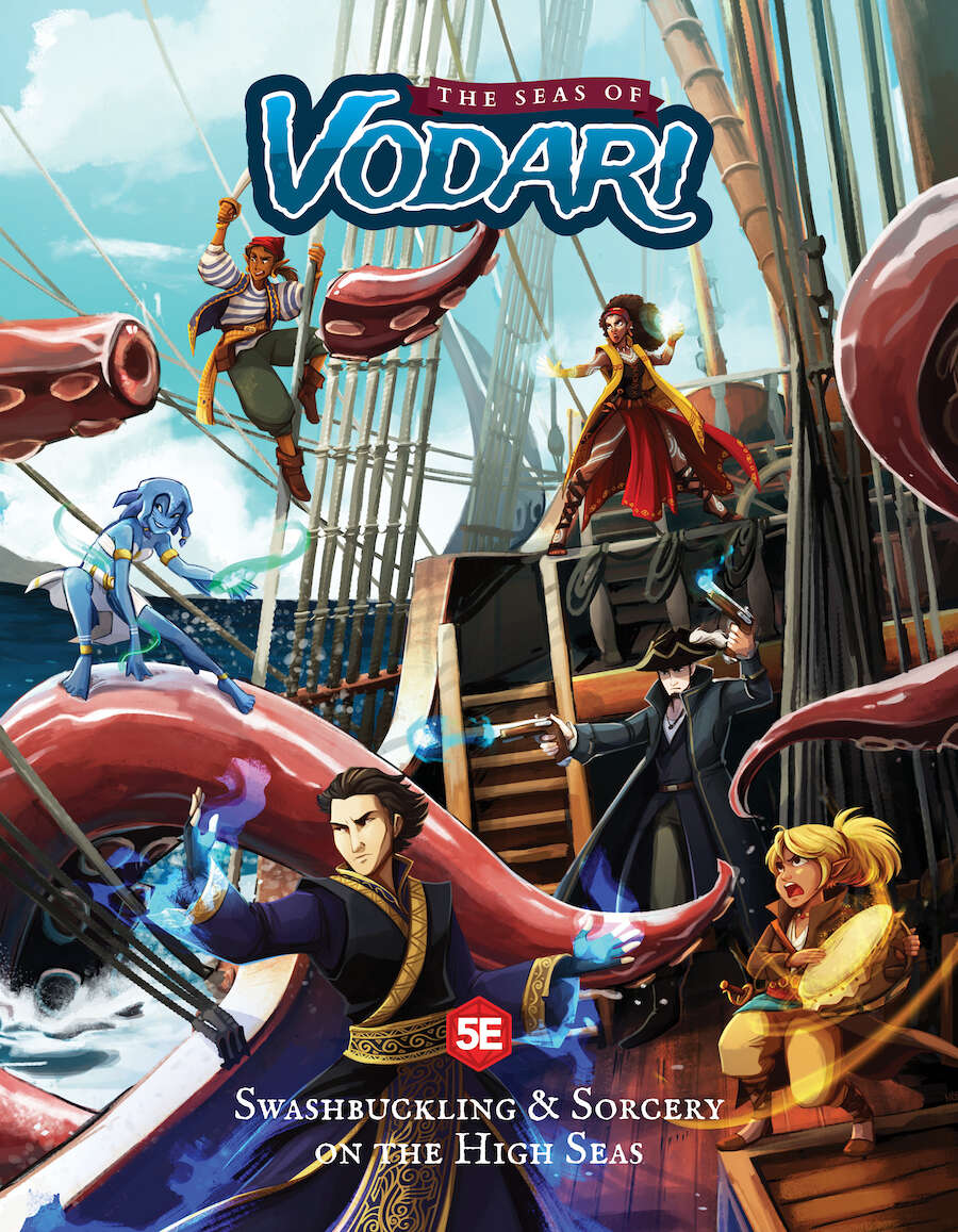 The Seas of Vodari (5E)