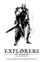 Explorers of Nurath - Dungeon Crawl rpg - Rulebook