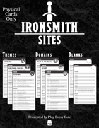 Ironsmith: Sites (Physical Cards Only)