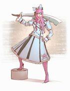 Cupcake Pirate - RPG Stock Art