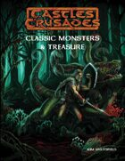 Castles & Crusades Classic Monsters The Manual 1st printing