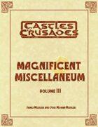 Magnificent Miscellaneum Vol. 3