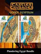 Plundering Egypt [BUNDLE] , from $49.95 to $29.99 at DriveThruRPG