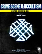 Crime Scene & Occultism I: Sealed Cycle [Residential Area]