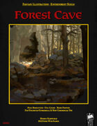 Fantasy Art - Forest Cave