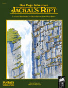 One Page Adventure - Jackal's Rift