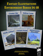 Fantasy Art - Environment Series (14-18) [BUNDLE]