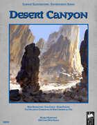 Fantasy Art - Desert Canyon
