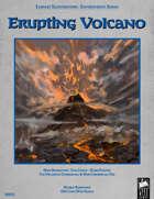 Fantasy Art - Erupting Volcano