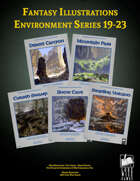 Fantasy Art - Environment Series (19-23) [BUNDLE]