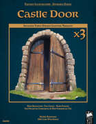 Fantasy Art - Castle Door
