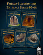 Fantasy Art - Entrance Series (40-44) [BUNDLE]