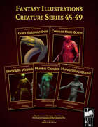 Fantasy Art - Creature Series (45-49) [BUNDLE]