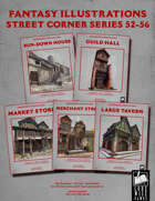 Fantasy Art - Street Corner Series (52-56) [BUNDLE]