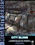 Cyberpunk Art - City Slums