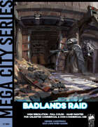 Cyberpunk Art - Badlands Raid