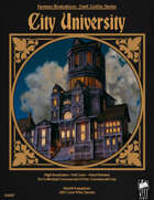 Dark Gothic Art - City University