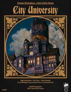 Dark Gothic Art - City University