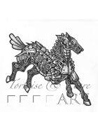 THC Stock Art: Clockwork Horse