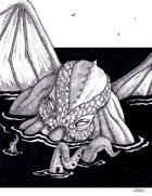 THC Stock Art: Cthulhu Rising (.png)