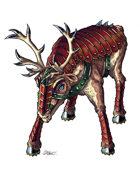 THC Stock Art: Battle Reindeer (.png)