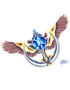 THC Stock Art: Sapphire (Amulet Series)