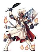 THC Stock Art: Oui, Chef! Culinary Warrior