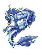 THC Stock Art: Monstrous Mercreature Mermaid